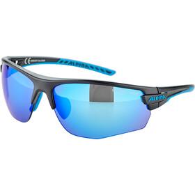 Alpina Tri-Scray 2.0 HR Okulary, czarny/niebieski